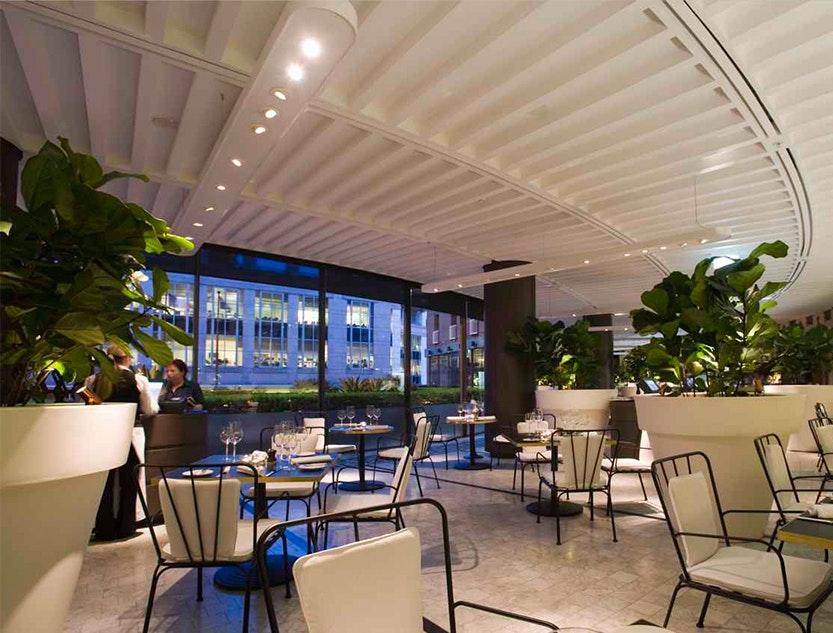 Garden Court Restaurant, Sofitel Wentworth, Sydney
