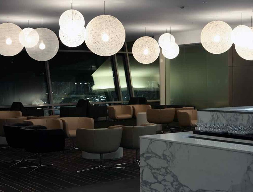 QANTAS Airport Lounge