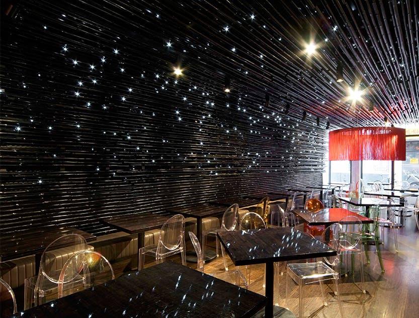 Ginger Boy Restaurant Space Furniture