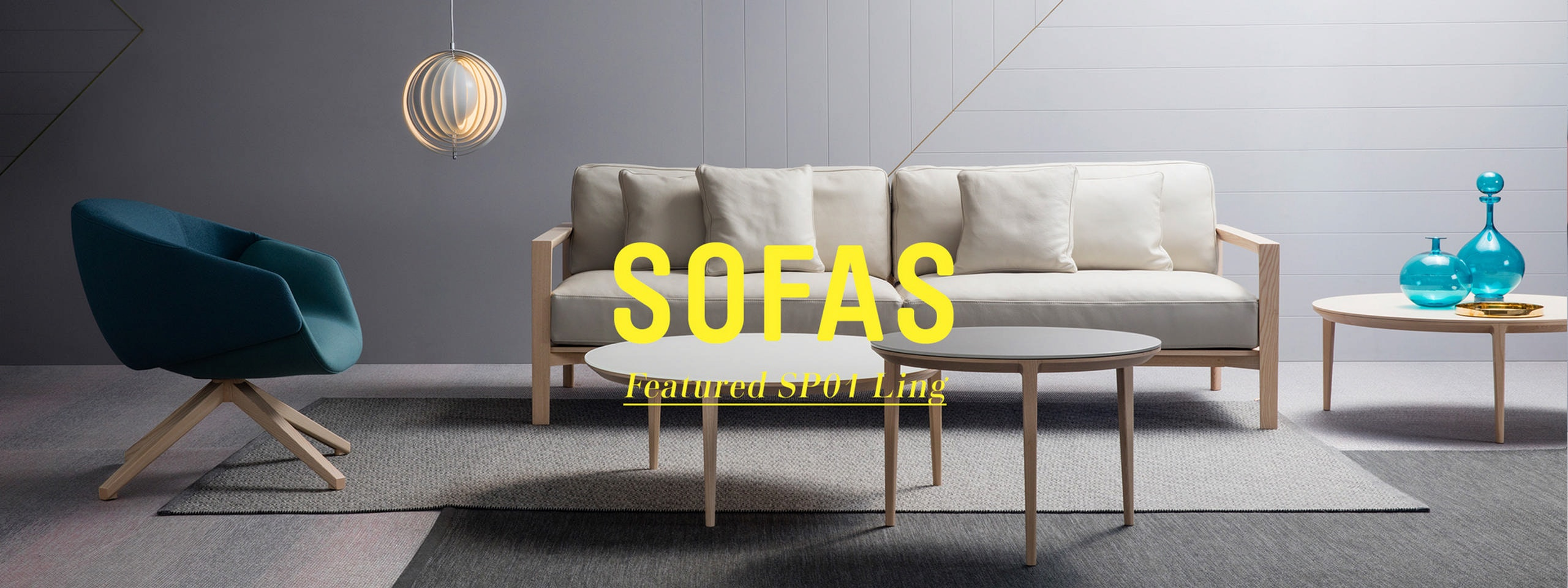 Kick back in style and luxury with the sofa range from space