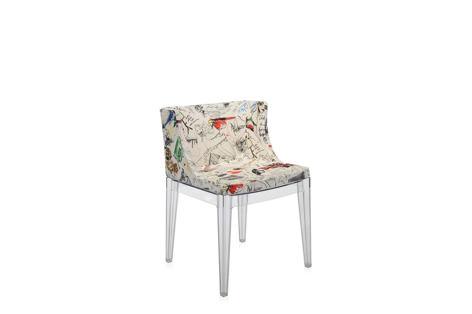 Mademoiselle chair with arms by philippe starck for kartell space furniture - Chaise mademoiselle starck ...