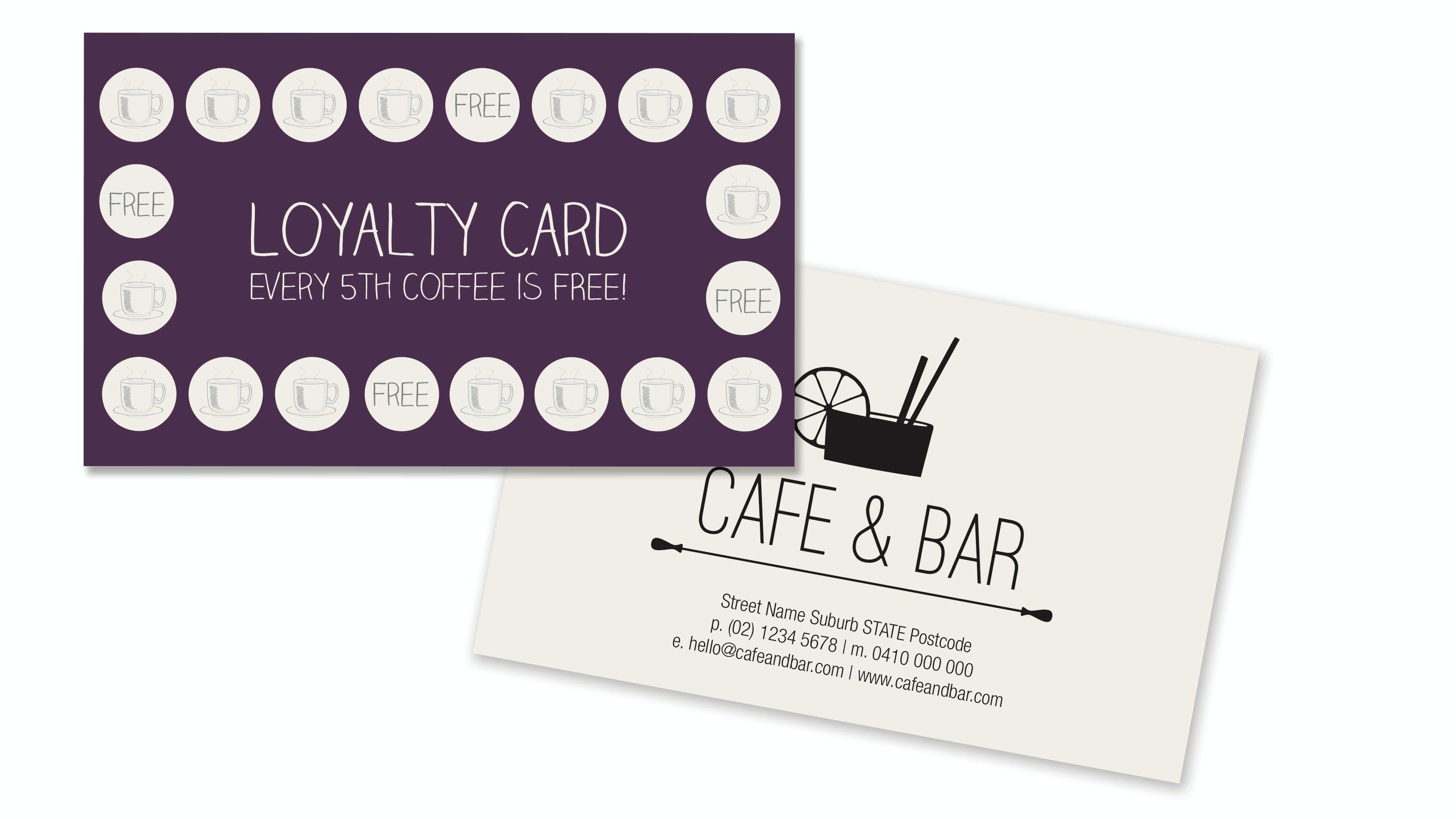 Loyalty Card   PrintShop by Harvey Norman