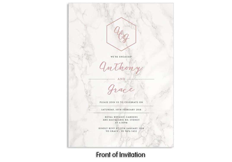 5x7 envelopes Pink blush Australia Sydney A7 130mm x 185mm wedding invitations