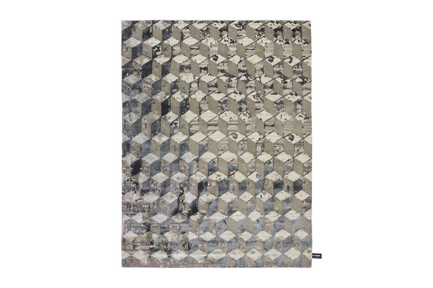 Infini Stucco Soie Rug by Contemporary Collection for CC-Tapis