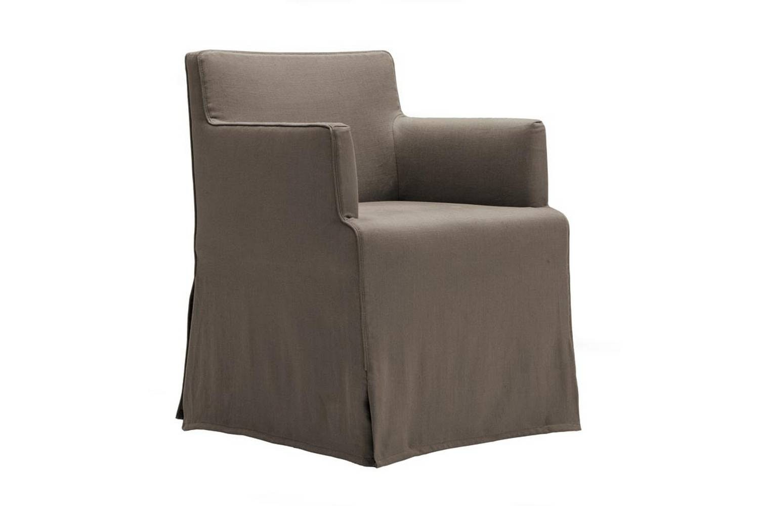 Velvet Due Chair with Arms by CR&S Poliform for Poliform