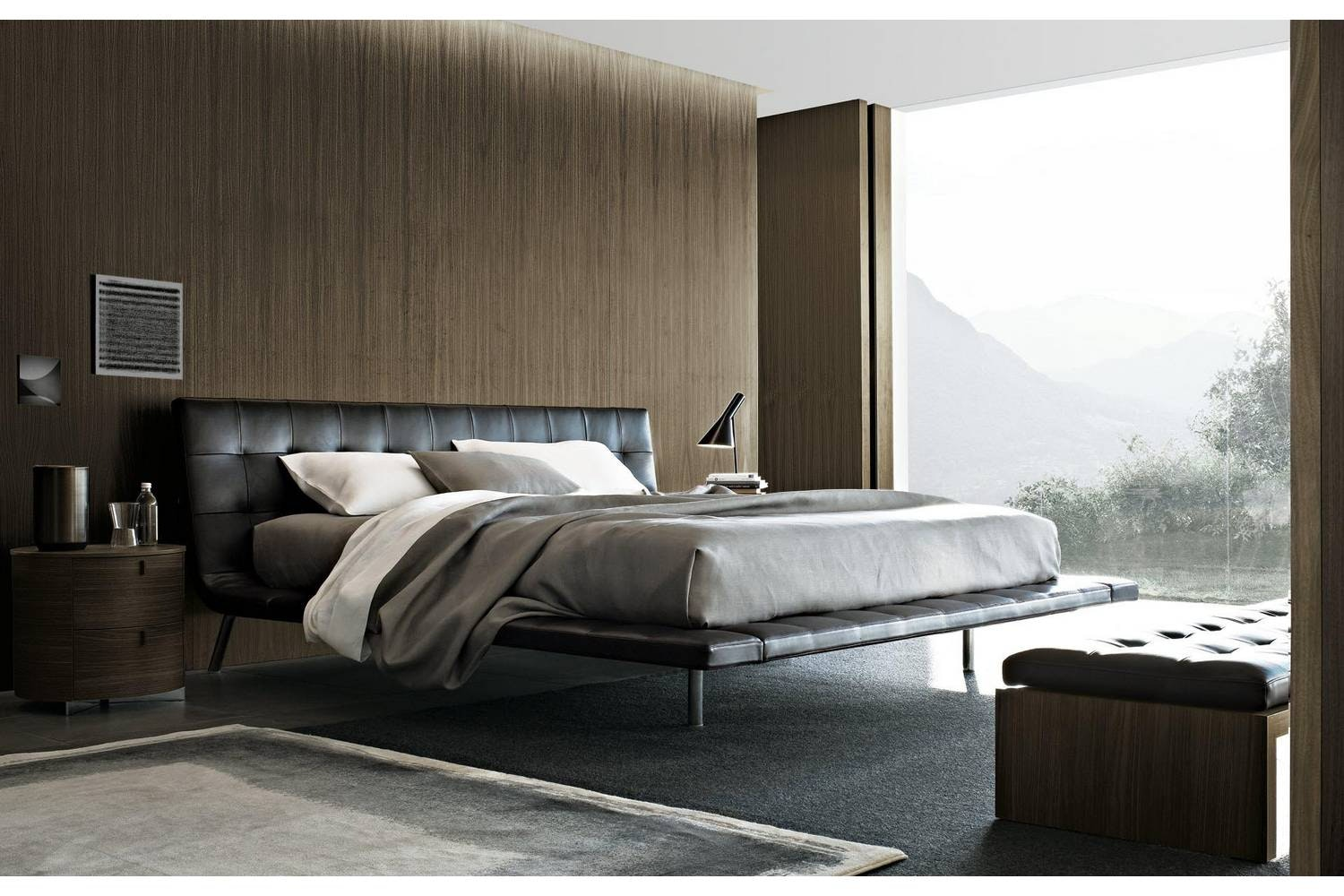 Onda Bed by Paolo Piva for Poliform