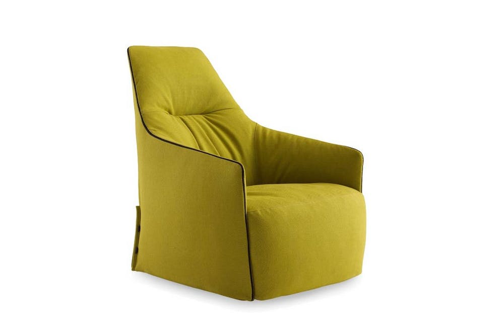 Santa Monica Lounge Armchair by J.M. Massaud for Poliform
