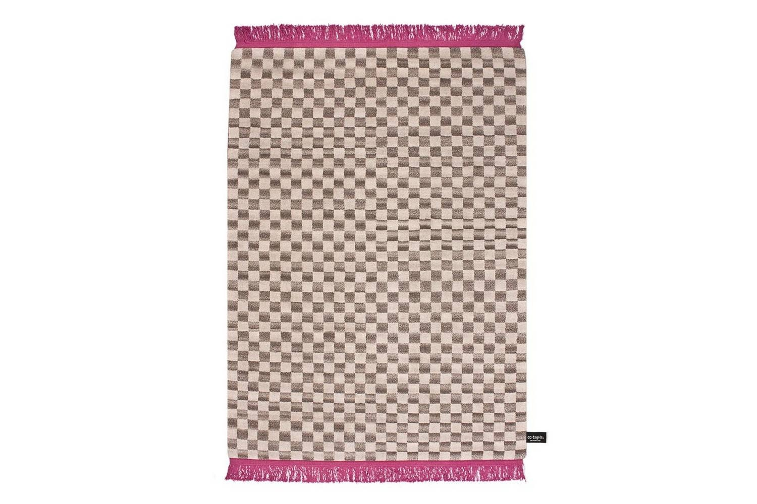 Traces De Damier Rug by Traces De Memoire Collection for CC-Tapis