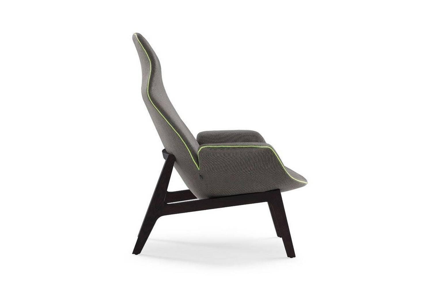 Peachy Ventura Lounge Armchair By J M Massaud For Poliform Ibusinesslaw Wood Chair Design Ideas Ibusinesslaworg