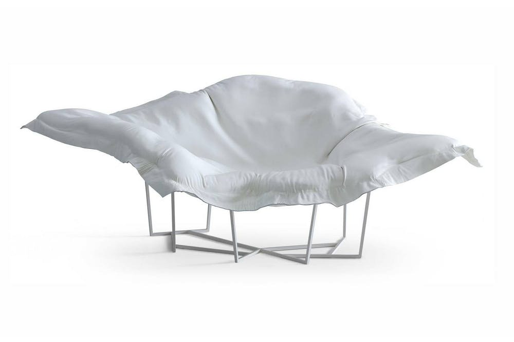 Wallace Chaise Longue by J. M. Massaud for Poliform