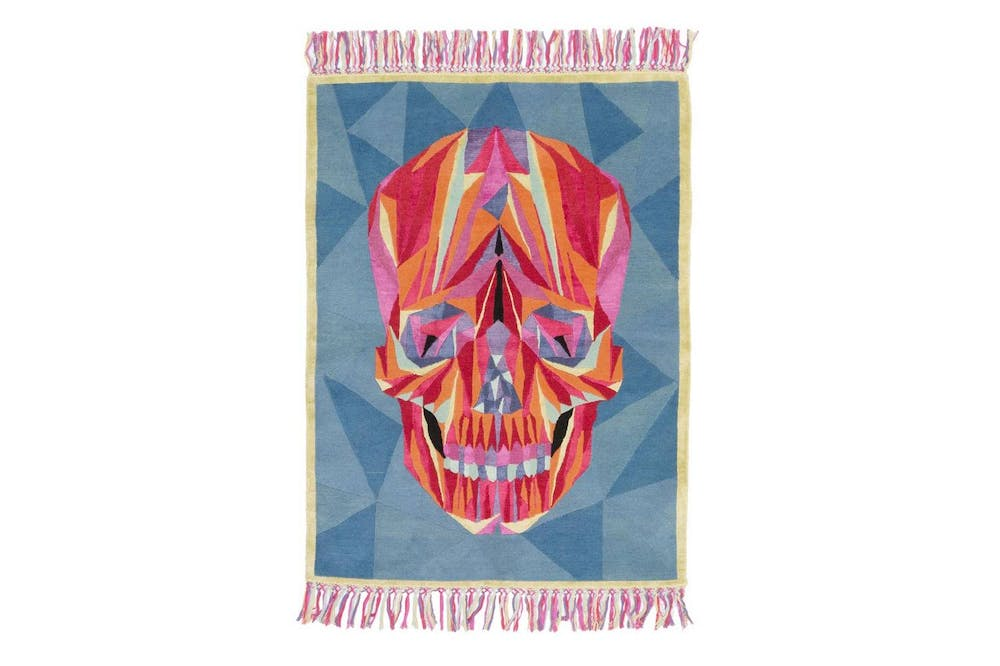 Death On The Dance Floor Rug by Marta Bagante for CC-Tapis
