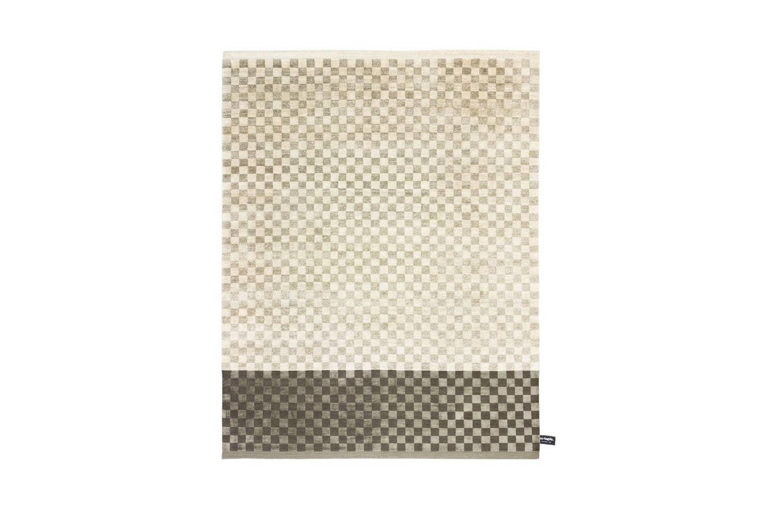 Dipped Damier Rug by Dipped Collection for CC-Tapis