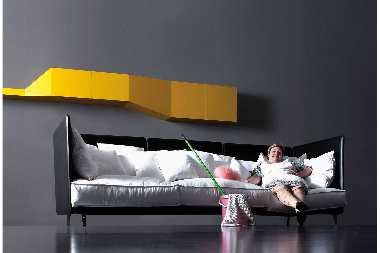 K2 Cowhide Sofa by Carlo Colombo for Arflex