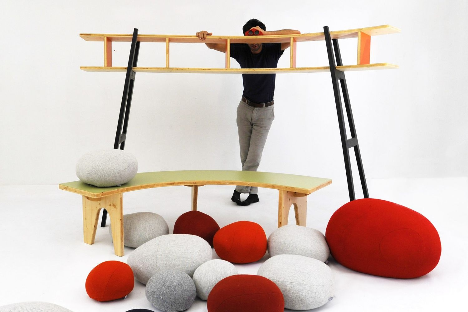 Hasard Bench by Stephanie Marin for Smarin