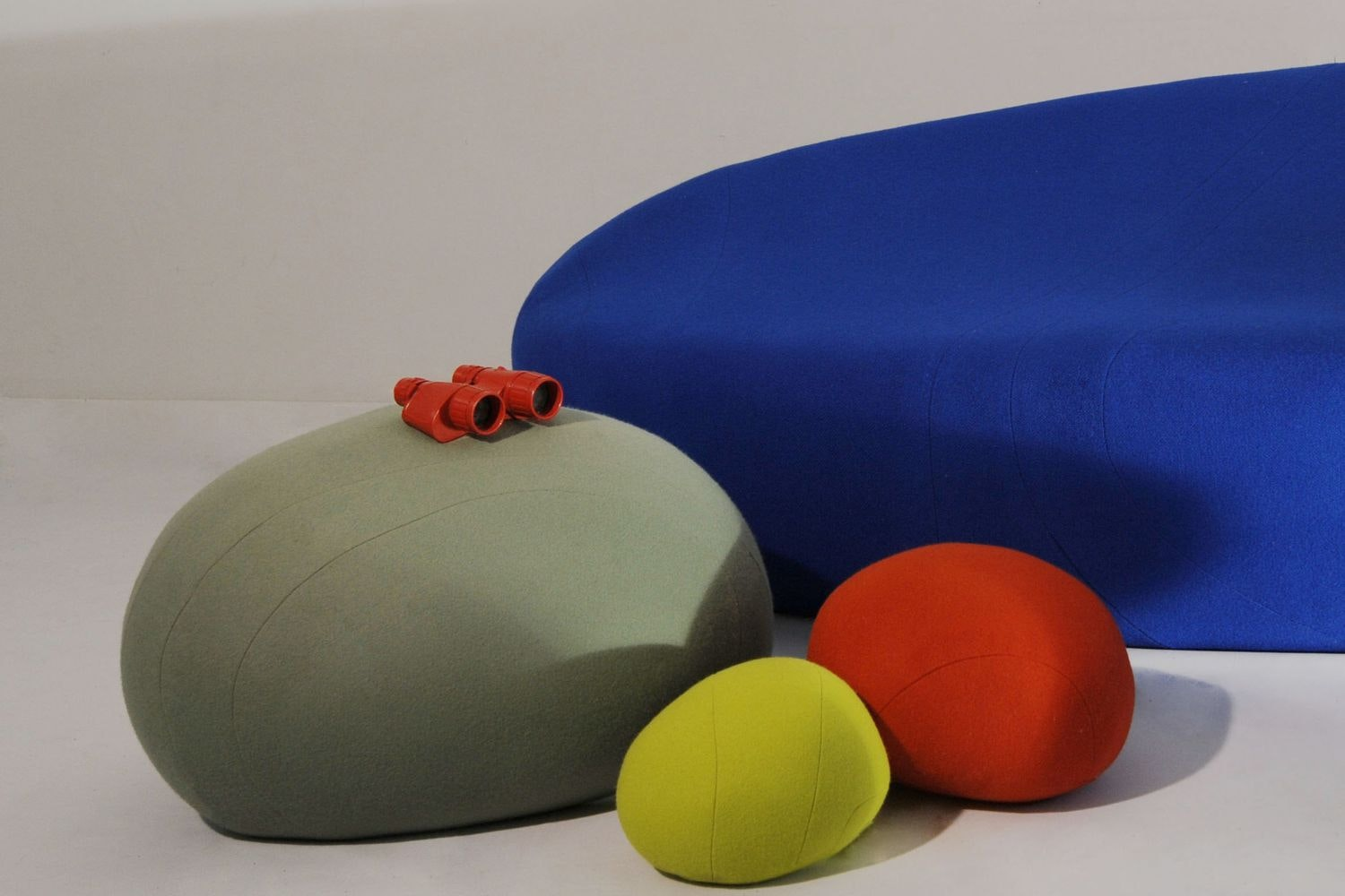Colorstones Floor Cushion by Stephanie Marin for Smarin