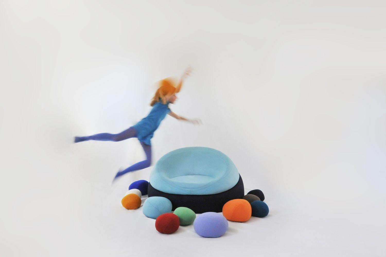 Nenuphares Floor Cushion by Stephanie Marin for Smarin