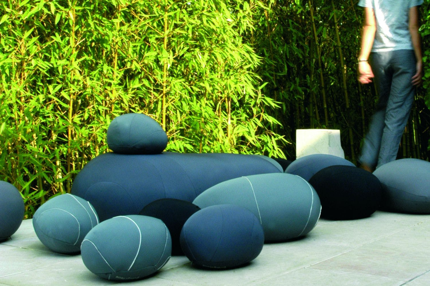 Neolivingstones Floor Cushion by Stephanie Marin for Smarin Poliform Australia
