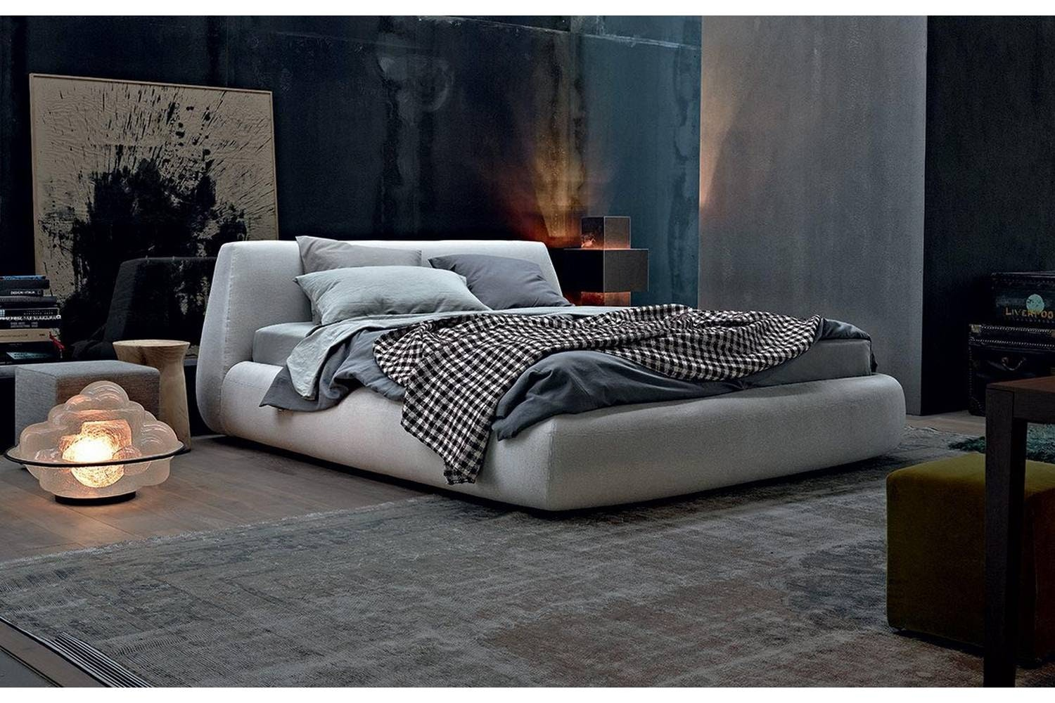 Big Bed by Paola Navone for Poliform