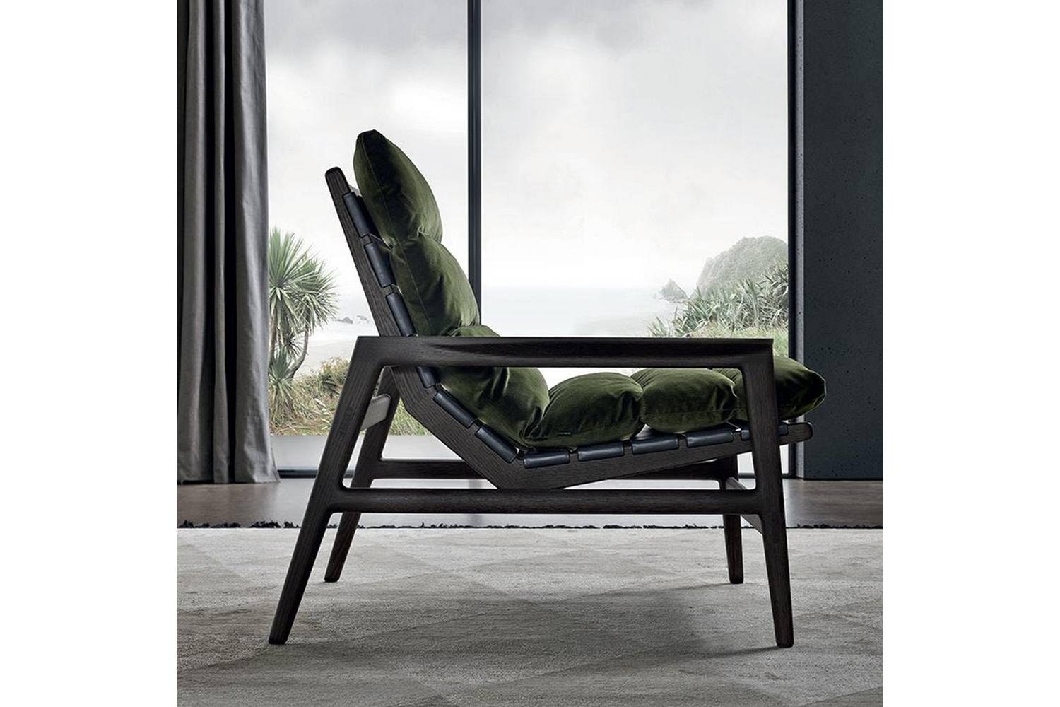 Ipanema Armchair by J. M. Massaud for Poliform