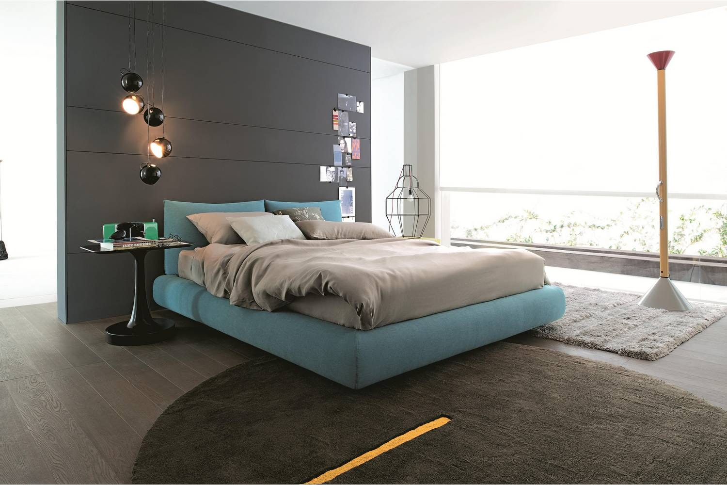 Dream Due Bed by Marcel Wanders for Poliform