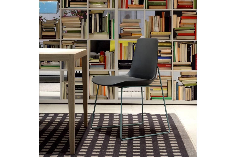Ventura Sled Chair by J. M. Massaud for Poliform