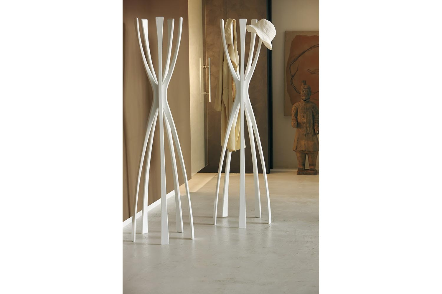 Flamingo Clothes Stand by G. Carollo for Porada