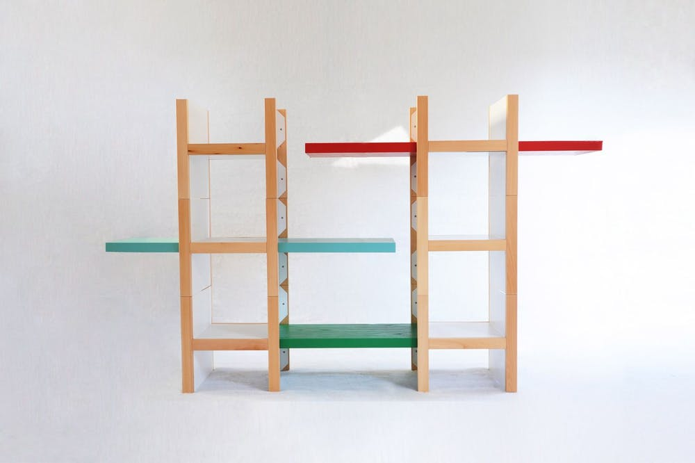 AccA Storage System by Marco Ferreri for Smarin