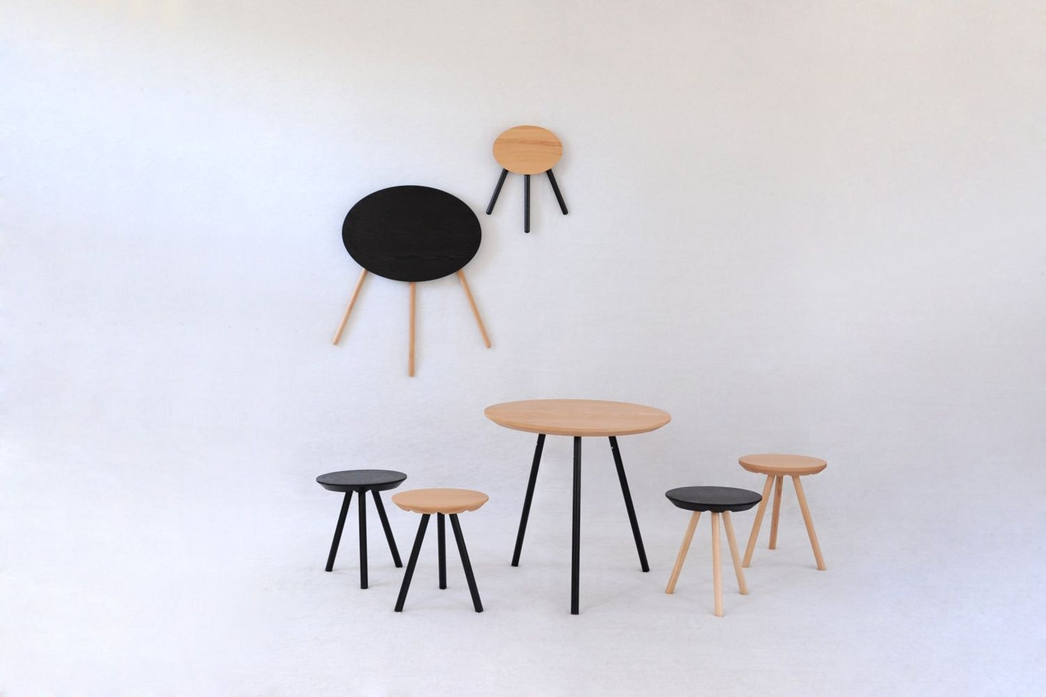 2D Stool by Sebastian Bergne for Smarin