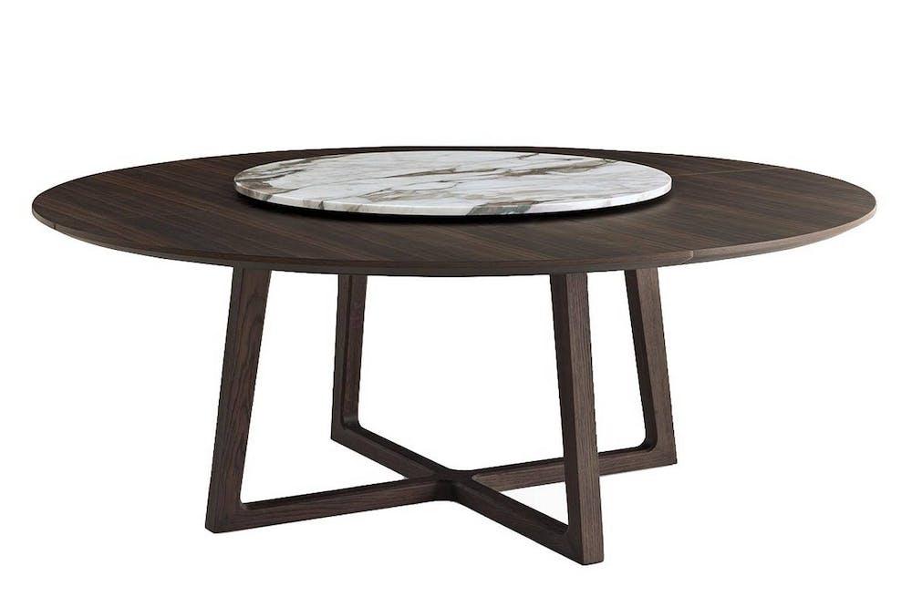 Concorde table by emmanuel gallina for poliform poliform for Table basse round
