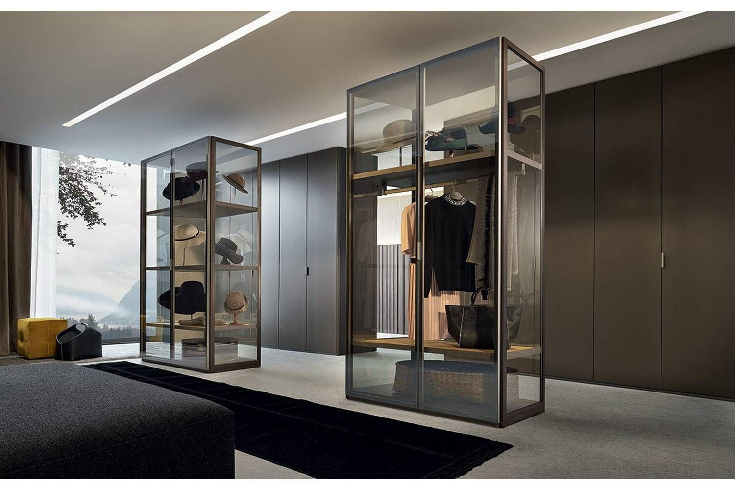 Fitted Wardrobe by Rodolfo Dordoni for Poliform