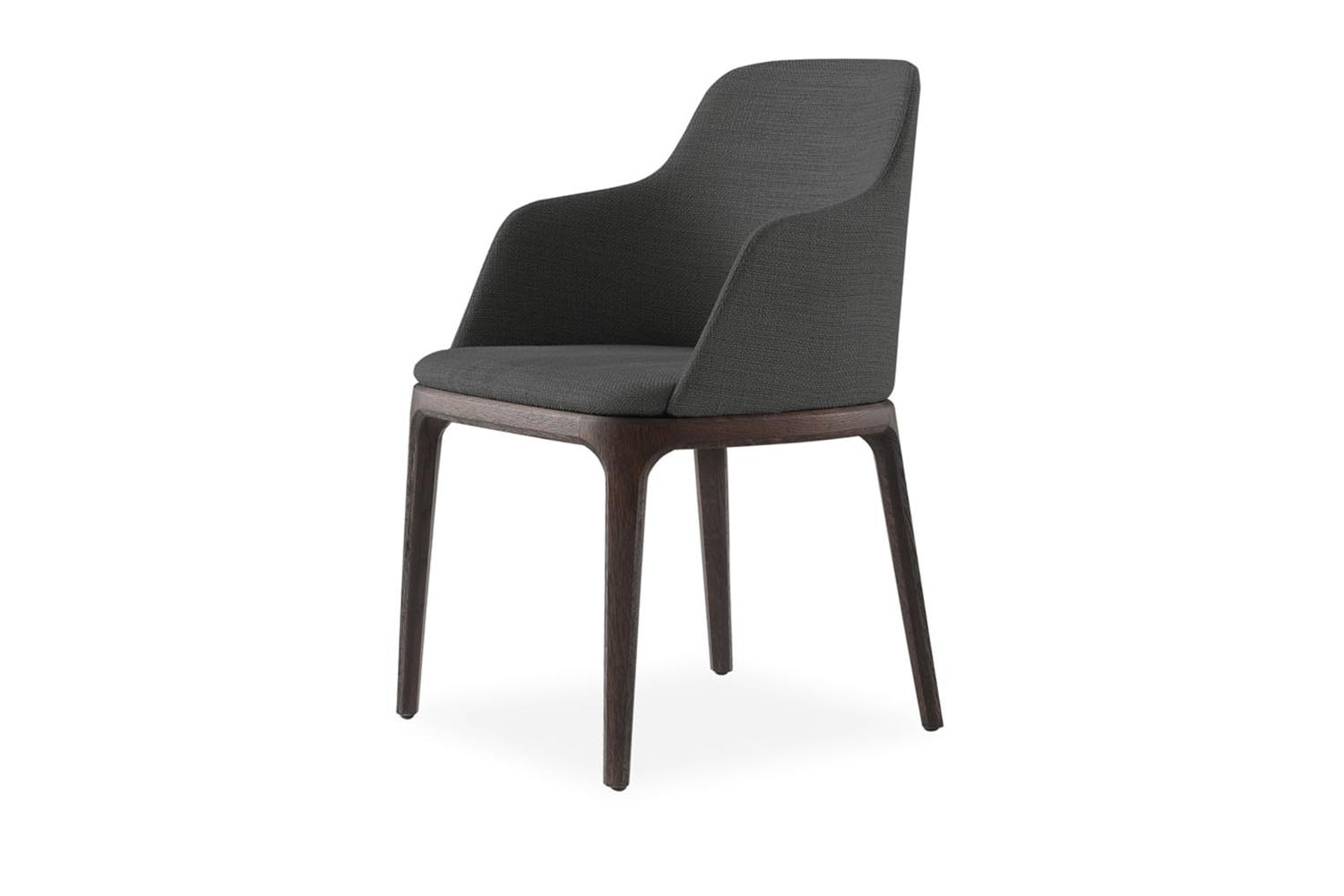 Grace Chair with Arms by Emmanuel Gallina for Poliform