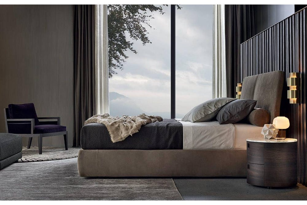 Laze Bed by Rodolfo Dordoni for Poliform