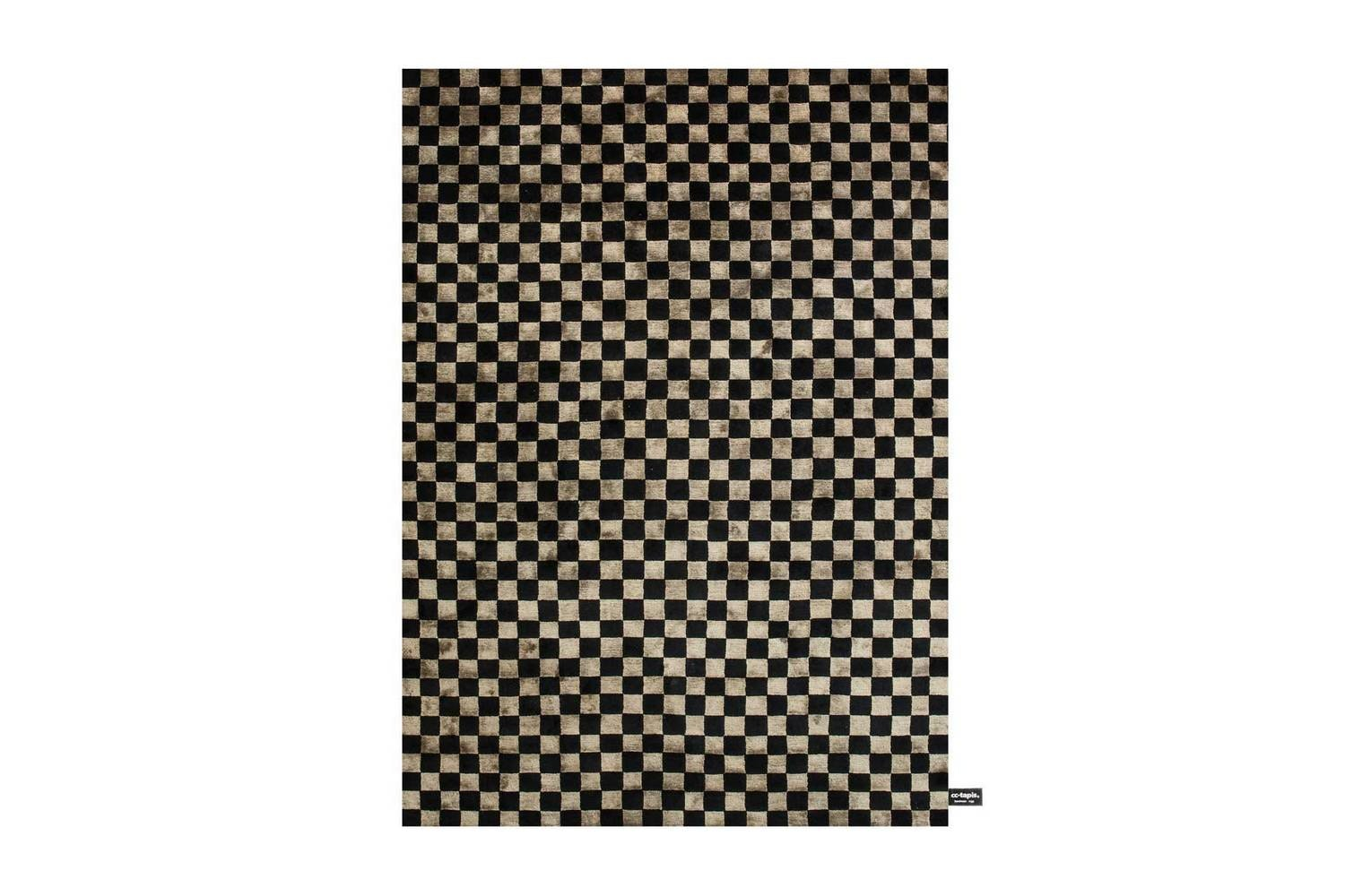 Damier Soie Rug by Contemporary Collection for CC-Tapis