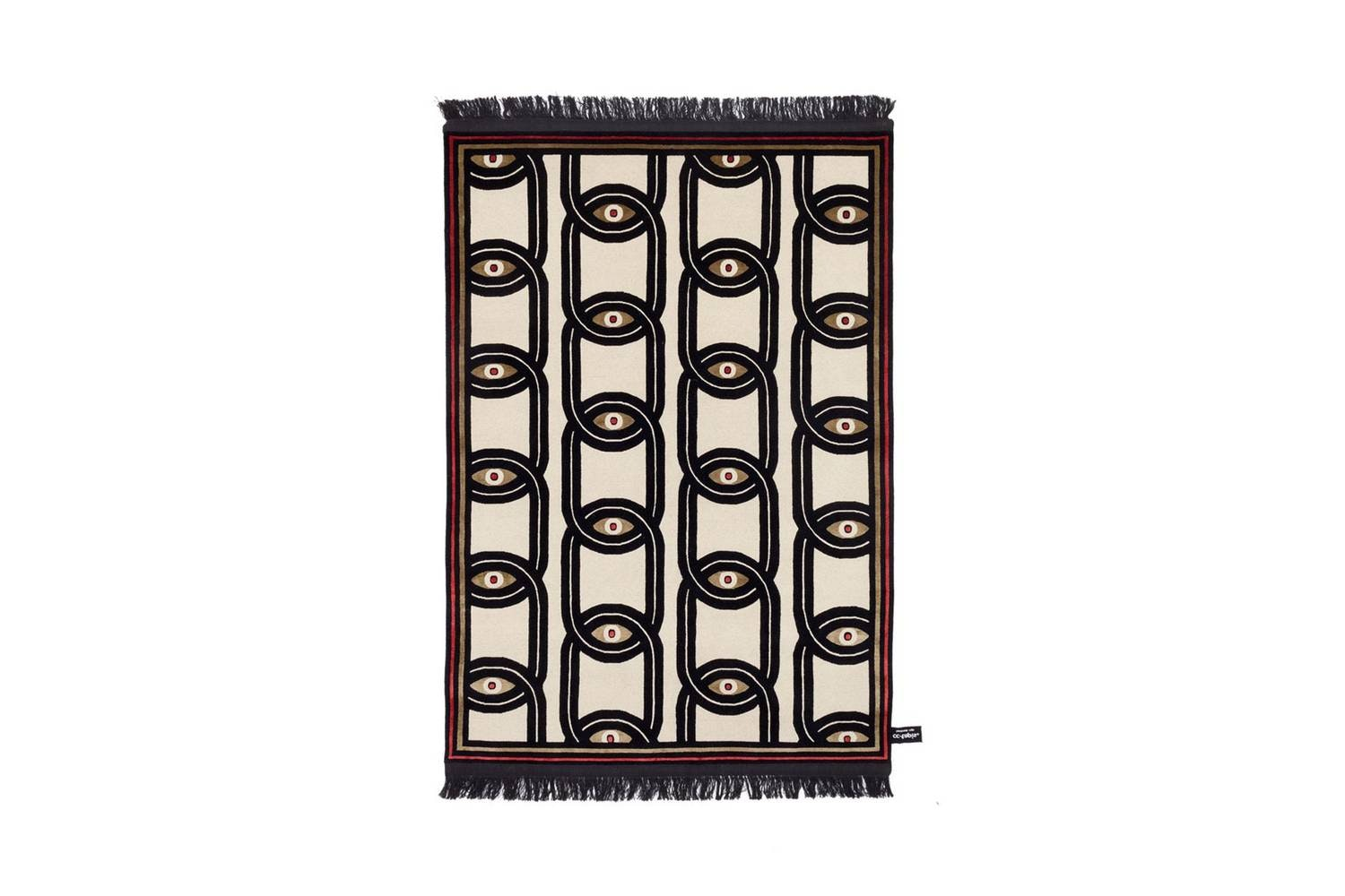Eyes In Chains Rug by Federico Pepe for CC-Tapis