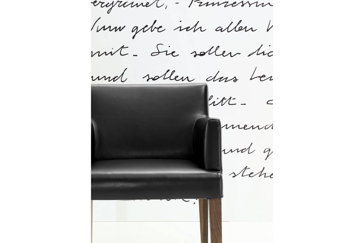 Velvet Chair with Arms by CR&S Poliform for Poliform