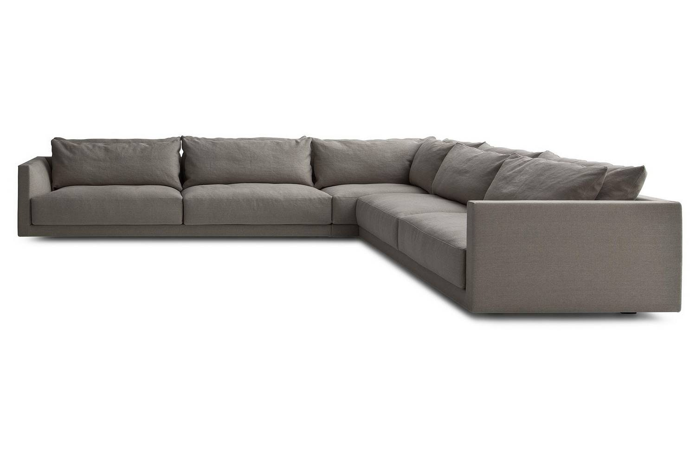 Ecksofa u form beige  Bristol Sofa by J. M. Massaud for Poliform | Poliform Australia