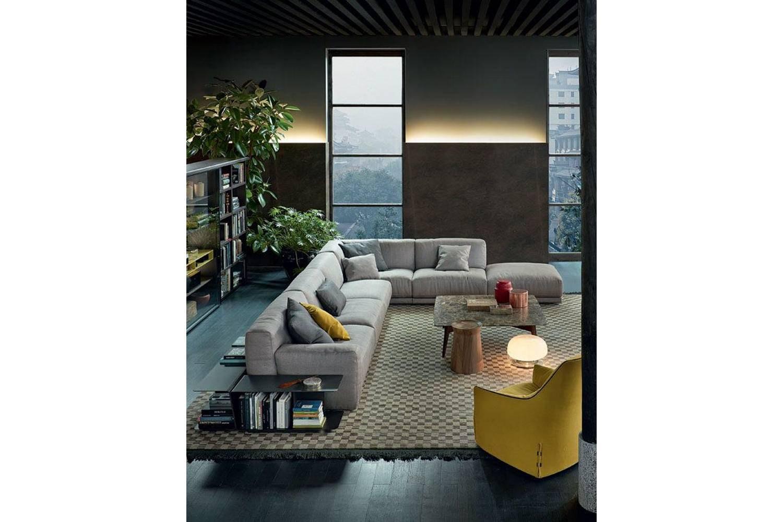 Paris-Seoul Sofa by J. M. Massaud for Poliform