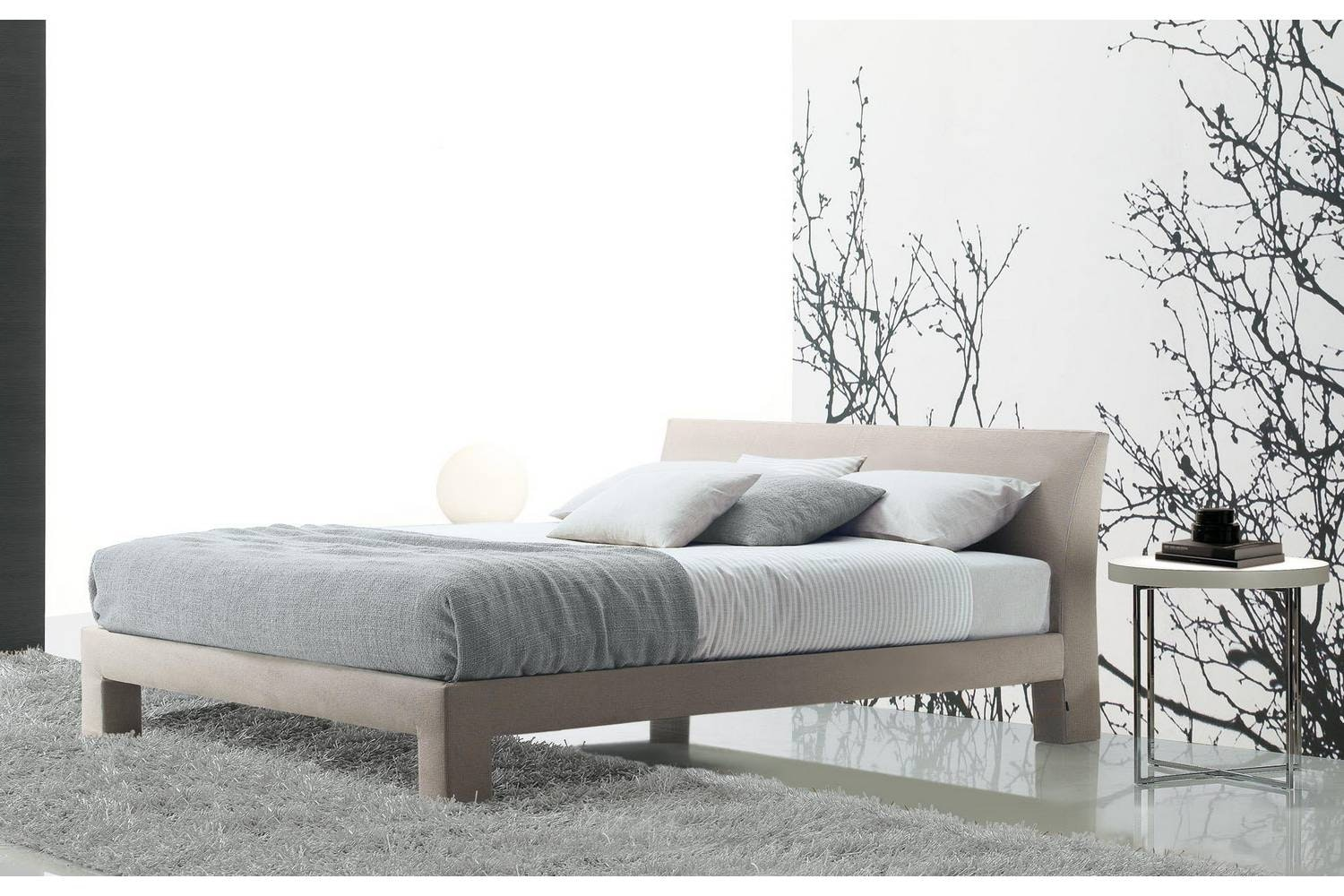 Teo Bed by Paolo Piva for Poliform