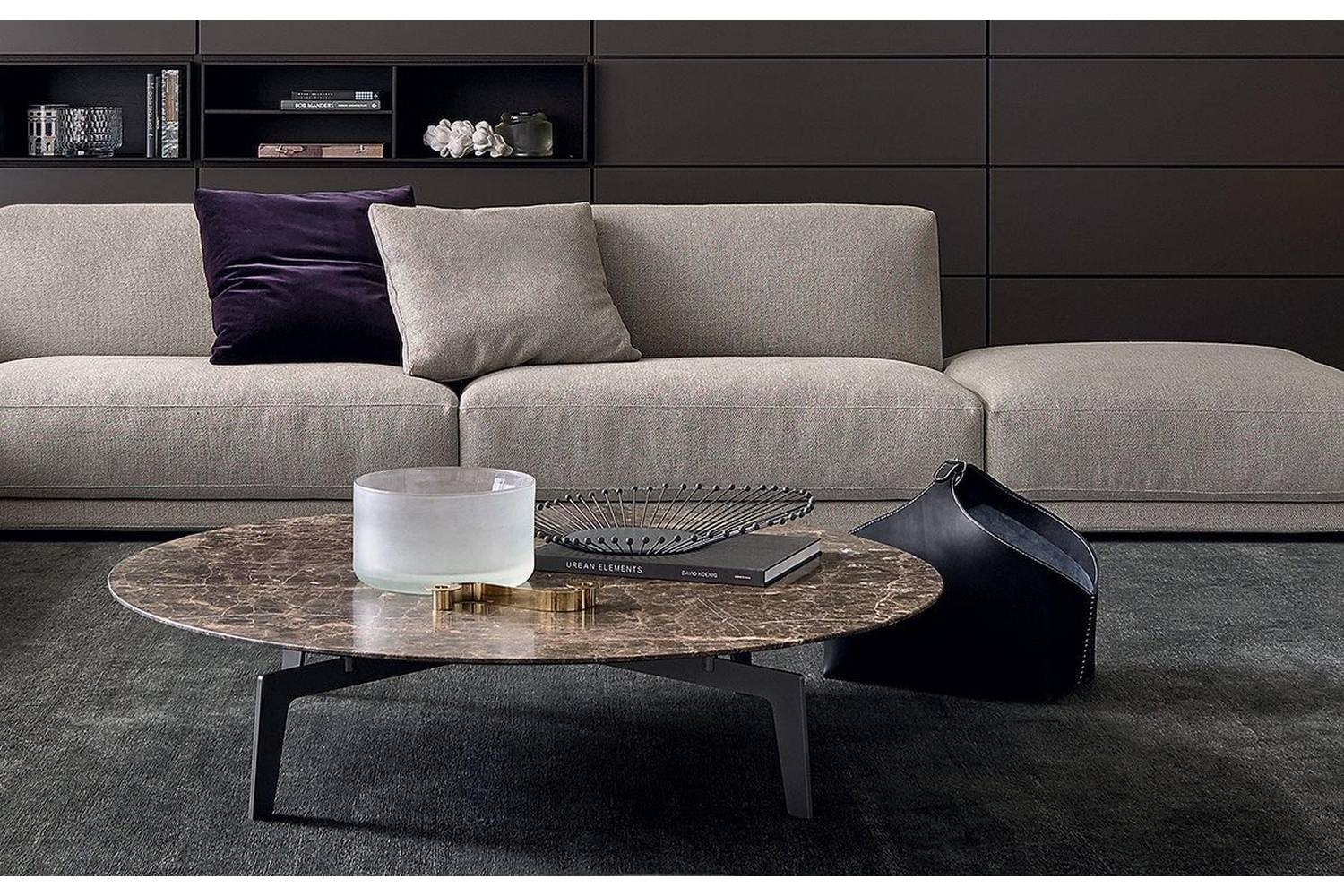 Tribeca Coffee Table by J. M. Massaud for Poliform