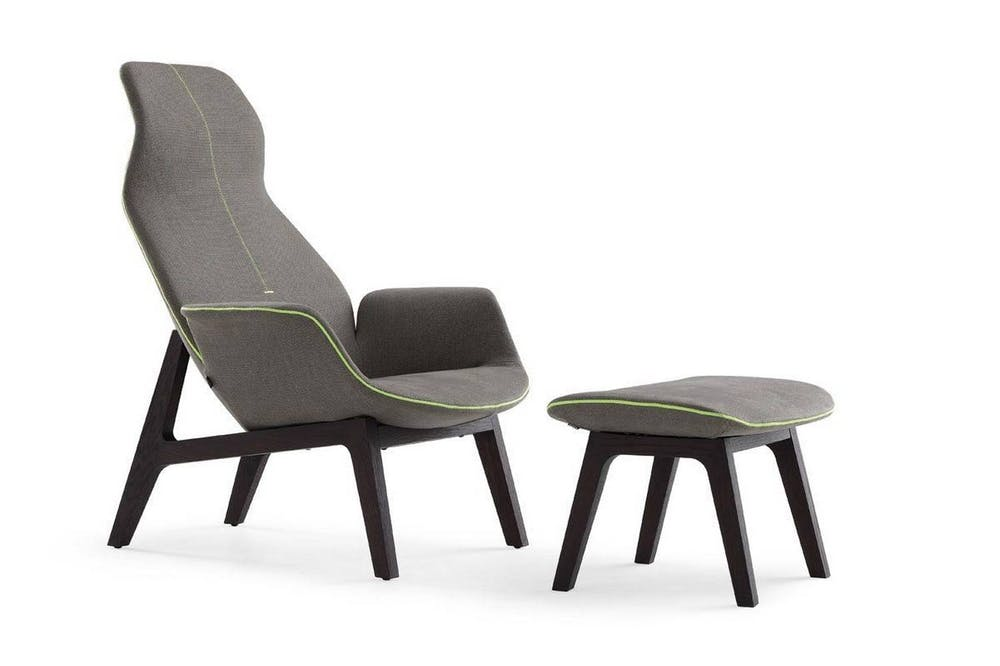 Ventura Lounge Armchair by J. M. Massaud for Poliform
