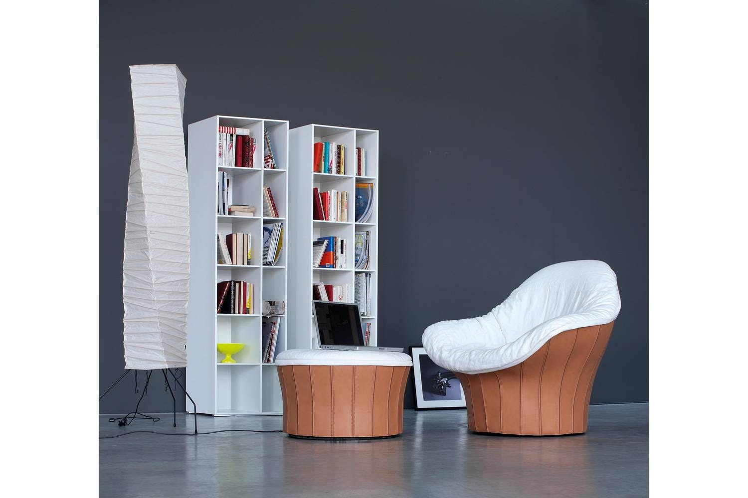 Lips Ottoman by Carlo Colombo for Arflex