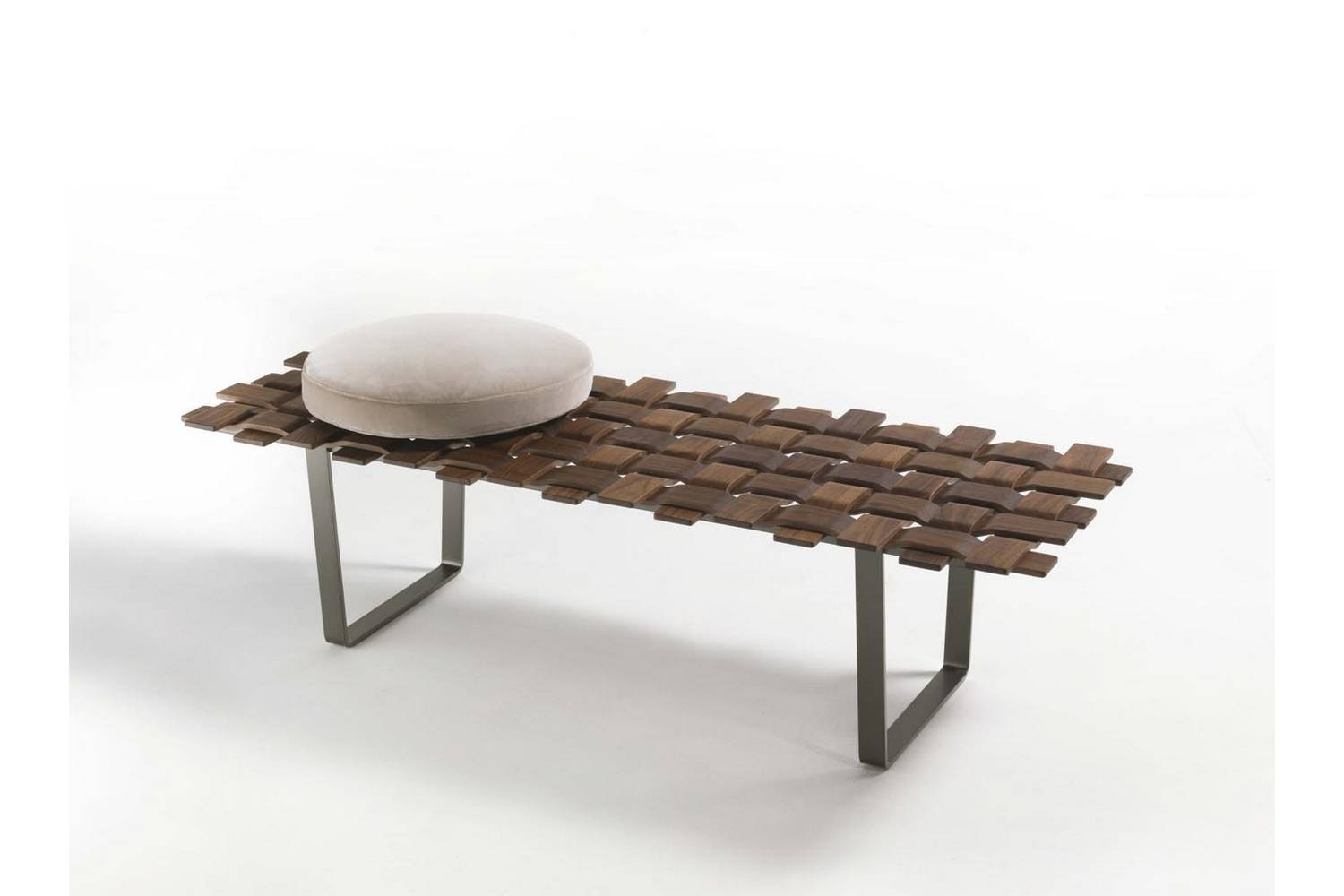 Belt Bench by T. Colzani for Porada