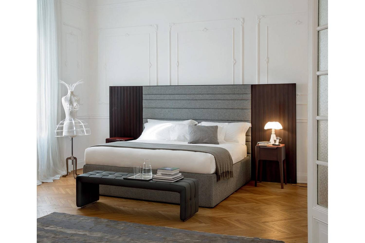 Boheme Bed by M. Marconato - T. Zappa for Porada