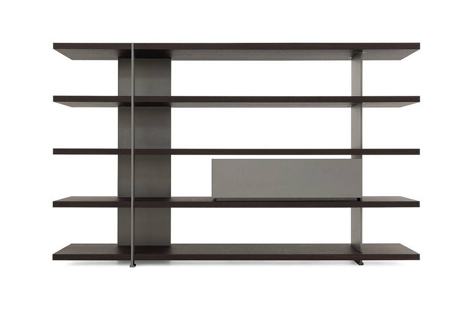 Bristol System Bookshelf by J. M. Massaud for Poliform
