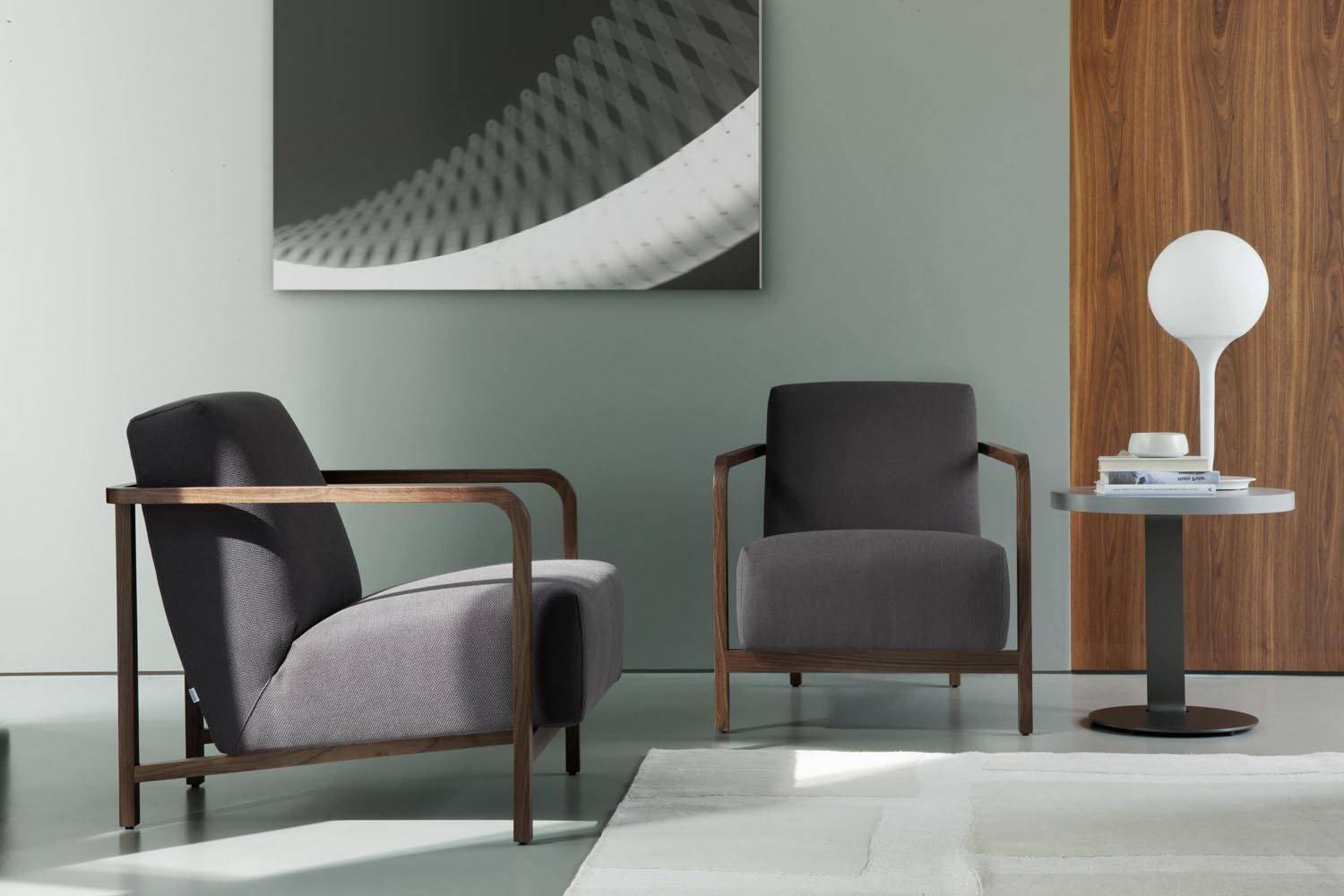 Gilda Armchair by T. Colzani for Porada