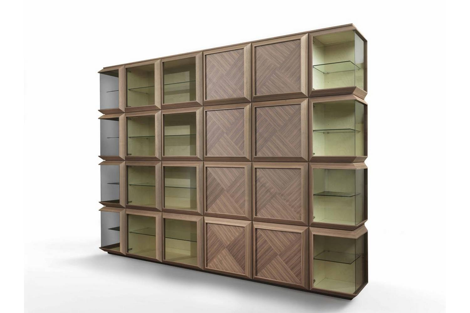 Kvadro Storage System by T. Colzani for Porada