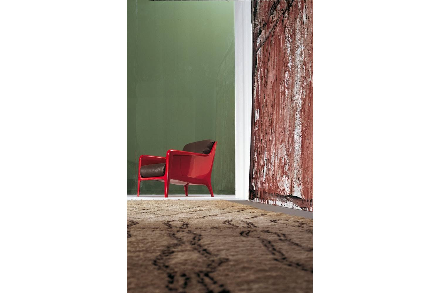 Cocca Outdoor Armchair by Carlo Colombo for Arflex
