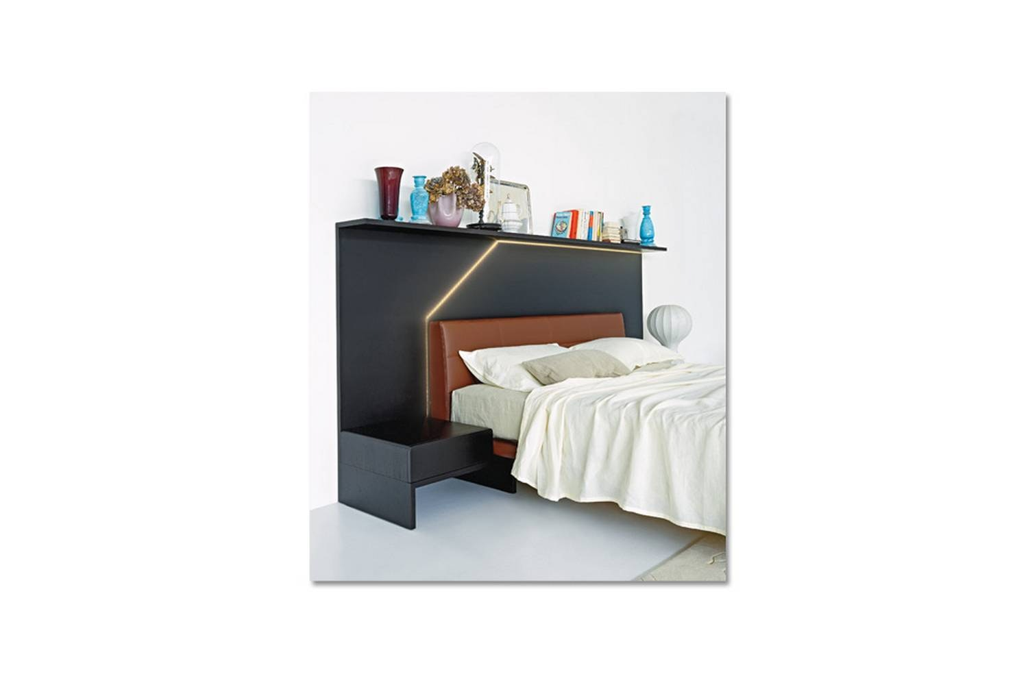 Ledletto Bed by Cini Boeri for Arflex