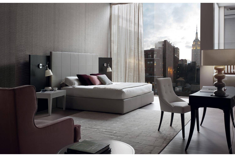 Joy Quadri Bed by E. Garbin - M. Dell'Orto for Porada