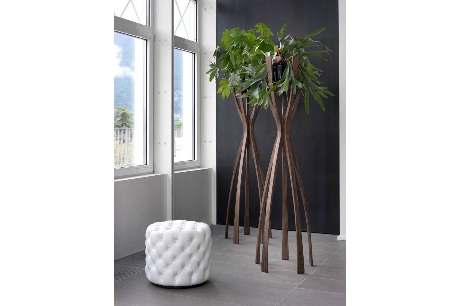 Flamingo Green Clothes Stand by G. Carollo for Porada